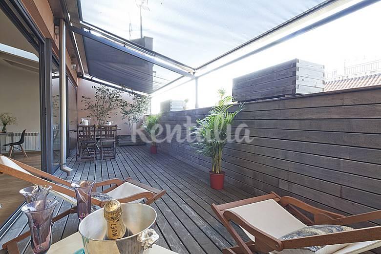Tico en bonanova con terraza privada barcelona - Atico terraza barcelona ...