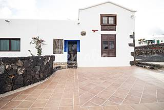 Huis te huur op 10 kilometer van het strand Lanzarote