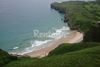 House for 2-6 people 2.5 km from the beach Asturias