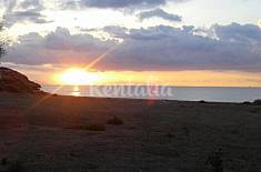 House for rent on the beach front line Murcia