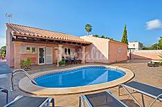 Villa for 8 people only 1000 meters from the beach Majorca