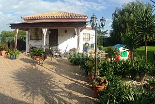 Villa de 2 habitaciones a 2 km de la playa, en Chipiona Cádiz