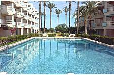 Apartamento de 2 habitaciones a 30 m de la playa Alicante