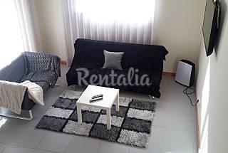 Apartamento com 1 quarto a 100 m da praia Coimbra