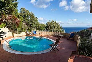 Villa con piscina privata, barbecue e vista mare Olbia-Tempio