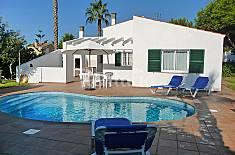 Villa para 6 personas con piscina Menorca