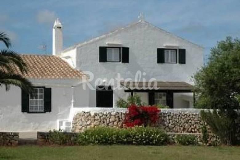 Gran casa de campo t pica con piscina a 3 km playa sant - Casas en menorca ...