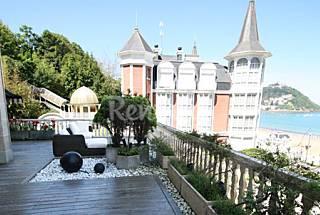 Miraconcha Terrace - Amplia terraza con vistas a la playa Guipúzcoa
