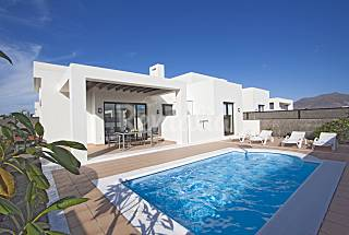 Playa Blanca private 3 bedroom villa Lanzarote