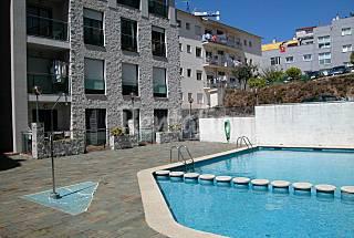 Apartamento com 2 quartos a 300 m da praia Pontevedra