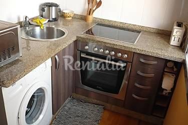 Apartamento Cocina Pontevedra Moaña Apartamento