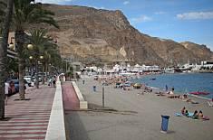 Apartamento-Ático para 4 personas a 350 m playa Almería