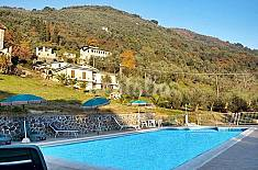Camaiore.Abitazione in collina con parco e piscina Lucca