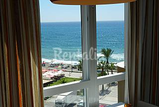 Apto 1 dorm vista mar 1era línea playa wifi Torrox Málaga