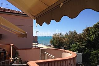 Apartment for rent on the beach front line Livorno