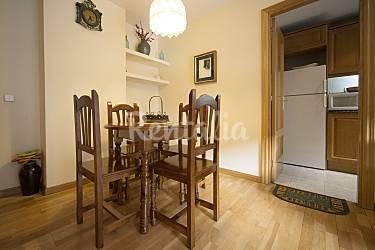 2 Dining-room Lerida Vielha e Mijaran Apartment