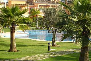 Very nice house 300 m. from beach in a Golf Course Málaga