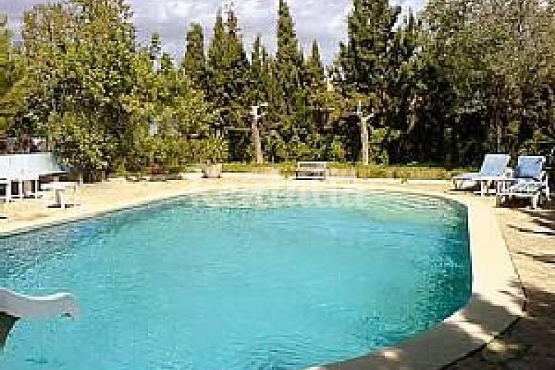 Finca con piscina cerca de palma para 20 personas palma - Piscinas palma de mallorca ...