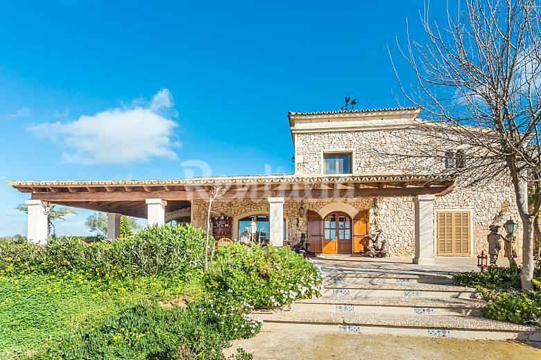 Impresionante  Mallorca Campos Villa en entorno rural