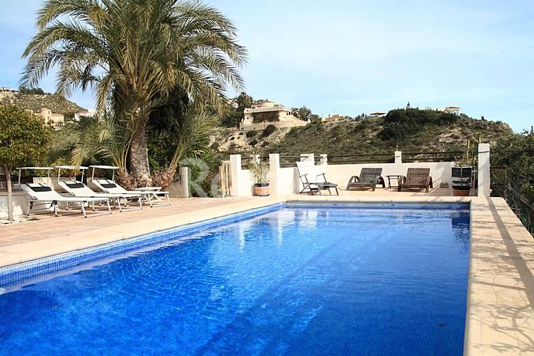 Large Detached Villa Sleeps 11 with Pool Alicante Alicante