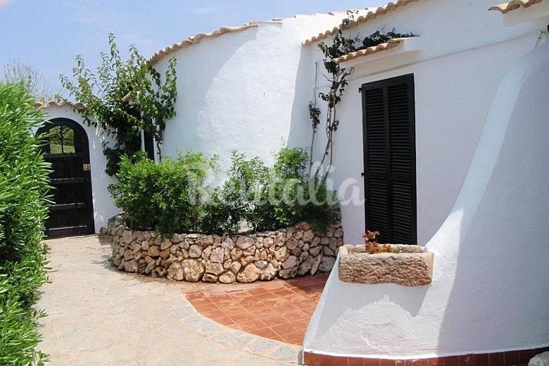 Casa en alquiler en primera linea de mar cap d 39 artrutx - Casas en menorca ...