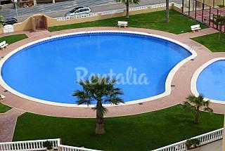 Apartamento de 2 habitaciones a 100 m de la playa Murcia