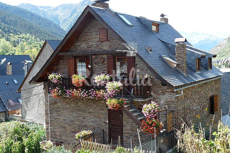 Casa 5 hab baqueira beret salardu naut aran lleida l rida valle de ar n - Casas rurales valle de aran ...