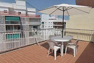 Ático a 100 m. de playa para 4-6 personas, Cullera Valencia