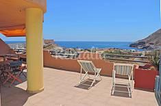 Amplia terraza frente a Cala Reona Murcia