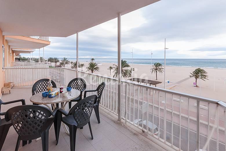 Neptuno apartamento para 9 personas en playa de gandia grau i platja gandia valencia - Apartamentos en gandia ...