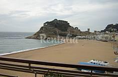 Apartamento para 3-6 personas en 1a línea de playa Girona/Gerona