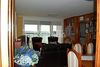 Apartamento para 6 pessoas em frente à praia Pontevedra