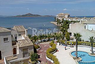 Apartments for rent on the beach front line Murcia