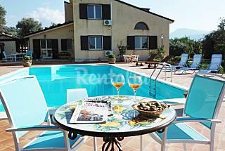 Holiday Villa Catarina Luxury pool in Pettineo  Messina
