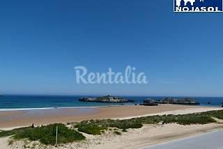 Ref.2025: Piso 1º linea de playa con vistas playa Cantabria