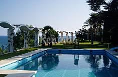 Luxury villa with garden, private pool & sea view Barcelona