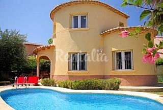Denia villas playa de Las Marinas  Alicante