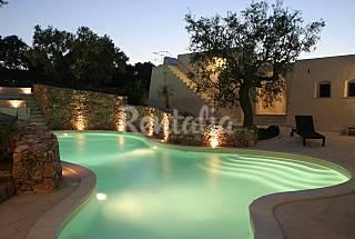 Modern Pool and Ancient Trullo Lecce