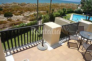 Apartment Studio beach front 1st line Málaga
