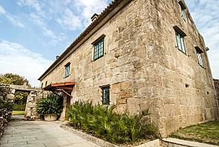 Casa Rectoral en el Baixo Miño y Rias Baixas