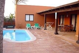 Villa de lujo en corralejo. Piscina privada Fuerteventura