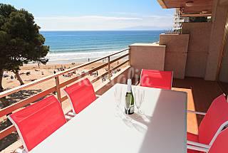Apartamento para 6-8 pessoas em frente à praia Tarragona