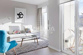 Wohnung für 5 Personen im Zentrum von Donostia/San Sebastián Gipuzkoa