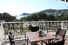 Apartamento a 50 m de la playa con vistas mar Girona/Gerona