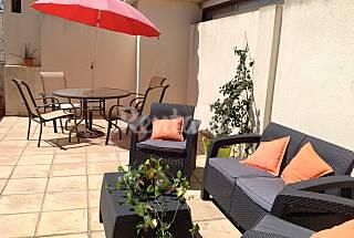 2 BR Penthouse on the coast - air conditioned - pk Málaga