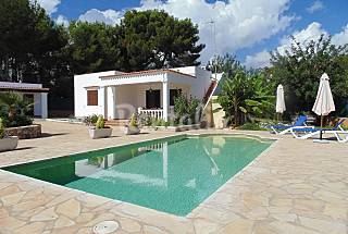 House for 6 people only 200 meters from the beach Ibiza