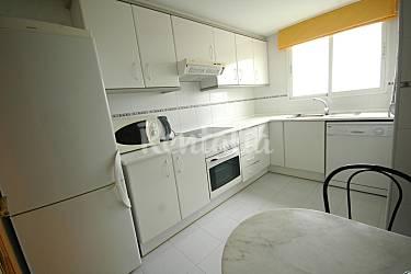 Jardin Cocina Alicante El Campello Apartamento