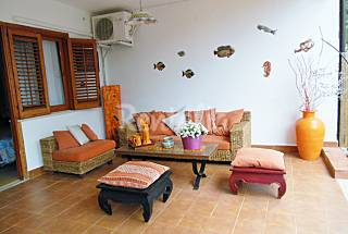 House with 2 bedrooms only 150 meters from the beach Palermo