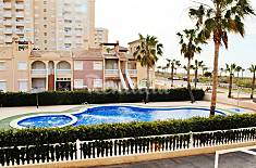 Apartment for 5-8 people on the beach front line Murcia