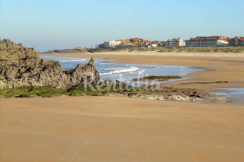 Apartamento en alquiler a 1000 m de la playa noja cantabria camino de santiago del norte - Apartamentos en cantabria playa ...